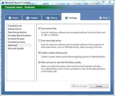 microsoft-security-essentials-settings