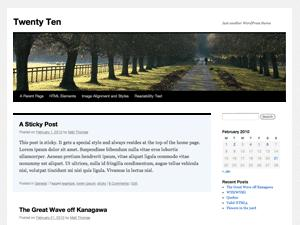 twenty-ten-wordrpress-theme