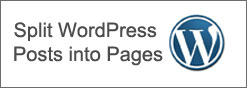 split wordpress posts