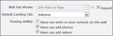 default tab fb