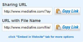 mediafire file sharing
