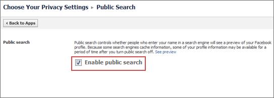 disable public search