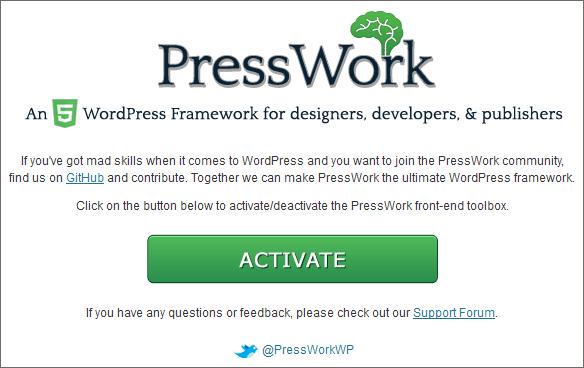 presswork frontend