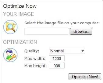 free image optimize