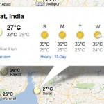How to Know Weather Forecast Using Google Maps