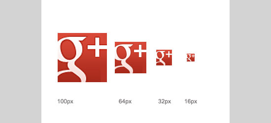 Google+ Brand Pages icons