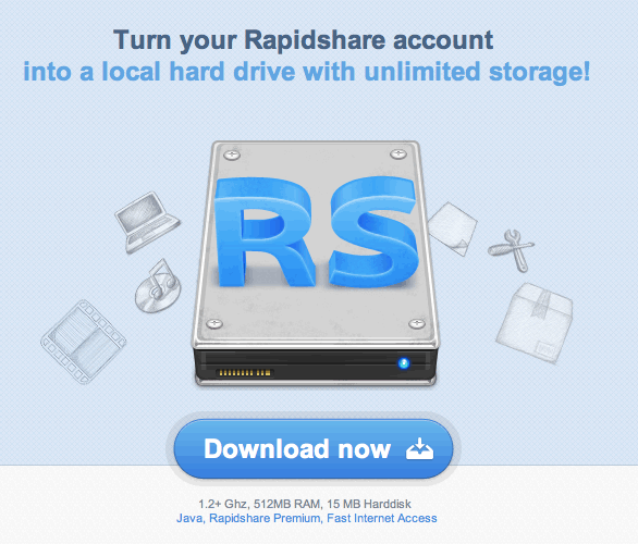 RapidDrive for Rapidshare
