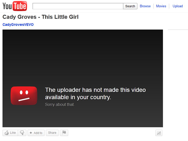 Unblock Youtube videos