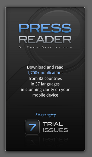 pressreader free trial