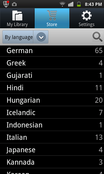 pressreader languages