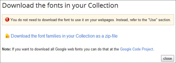 download web fonts