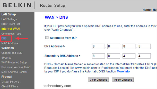 Configure OpenDNS and Google Public DNS for Wi-Fi Routers