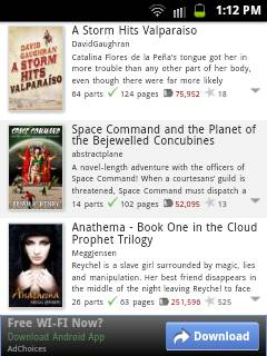 Read 100,000 Free Books with Wattpad for Android & iPhone