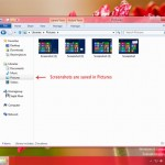 screenshots windows8