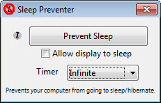 sleep preventer