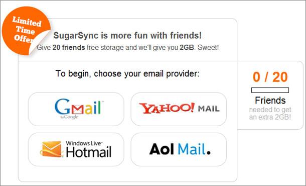 Sugarsync offer