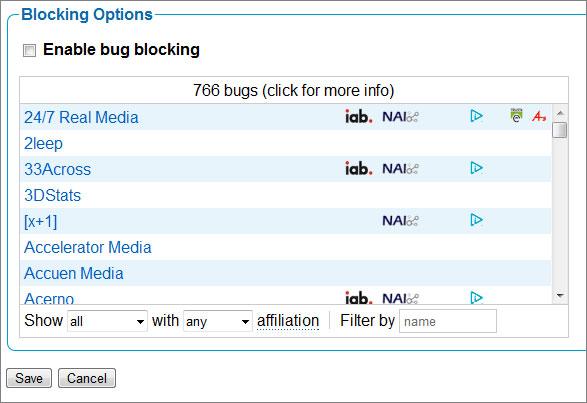 block bugs