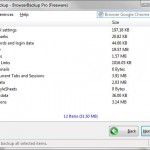 Create Full Backup and Restore Browsers: Chrome, Firefox and Opera