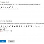 How to Add Email Signature in Outlook.com