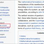 Wikipedia ebook