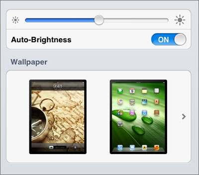 iPhone 5 brightness