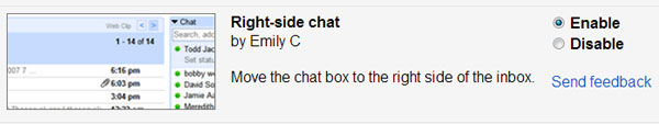 Enable Google Chat