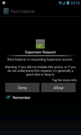 Superuser Permission