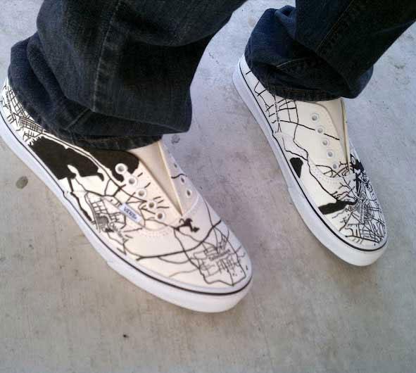 map-sneakers