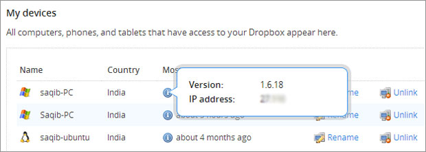 dropbox-ip-address