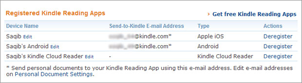 kindle-email