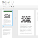 How to Bookmark PDF Pages When You Open it in Google Drive [For Chrome]