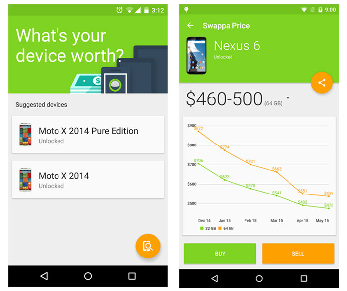 swappa price android
