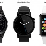 Samsung Gear S2 vs Moto 360 (2015) vs Apple Watch