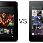 Kindle Fire HD vs Nexus 7