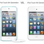 iPod Touch Comparison