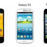 Nexus 4 Galaxy S3 iPhone 5