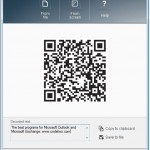 Windows QR code reader