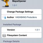 Mapsopener app