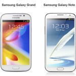 galaxy grand and note 2 compared